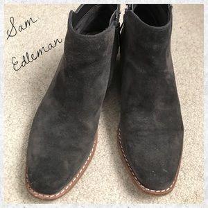 Sam Edelman Suede Booties
